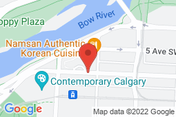 Map of 134-1111 6 Ave SW, Calgary, Alberta - Nuwest Medical Centre - Nuwest Medical Centre