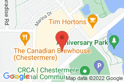 Map of 201, 175 Chestermere Station Way, Chestermere, Alberta - Chestermere Family And Walk-In Clinic - Oasis Professional Centres