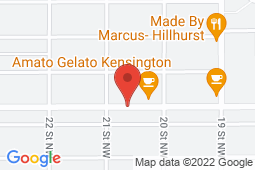 Map of 2128 Kensington Rd NW, Calgary, Alberta - West Hillhurst Medical Clinic - West Hillhurst Medical Clinic