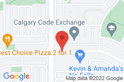 Map of 202-5401 Temple Dr NE, Calgary, Alberta - Temple Family and Walk-in Clinic - Oasis Professional Centres