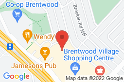 Map of 810-3630 Brentwood Rd NW, Calgary, Alberta - Brentwood Family Medical Centre - Med-Stop Medical Clinics