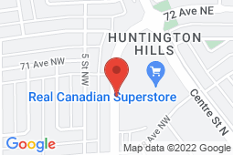 Map of 7020 4th Street NW, Calgary, Alberta - H2 Medical Centre - Primacy Medical Clinics