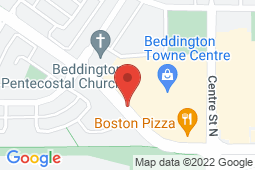 Map of 137, 1829 Ranchlands Blvd N.W., Calgary, Alberta - MCI - The Doctor's Office Nose Hill - MCI - The Doctor's office