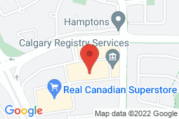 Map of 5149 Country Hills Boulevard NW, Calgary, Alberta - County Hills Medicentre - Medicentres