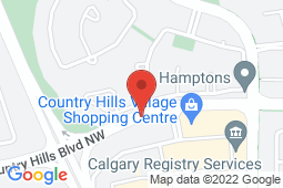 Map of 5251 Country Hills Blvd NW, Calgary, Alberta - The Clinic at Sarcee and Country Hills - Primacy Medical Clinics