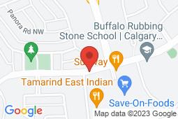 Map of 510, 1110 Panatella Boulevard NW, Calgary, Alberta - Panorama Hills Medicentre - Medicentres
