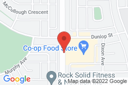 Map of 410 – 69 Dunlop Street, Red Deer, Alberta - Medi Cross Clinic - Medi Cross Clinic