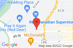 Map of 5016 51st. Ave, Suite A, Red Deer, Alberta - Horizon Family Medicine Red Dear - Primacy Medical Clinics