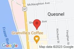 Map of 458 Reid Street, Quesnel, British Columbia - Goldcity Walk-In Clinic - Goldcity Walk-In Clinic