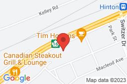 Map of 117 Jasper St, Hinton, Alberta - Hillcrest Medical Associates - Hillcrest Medical Associates
