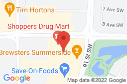 Map of 14030 - 23 Ave. NW, Edmonton, Alberta - Rabbit Hill Medical Clinic - Sphinx Medical Group
