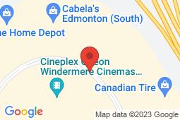 Map of 101 - 6103 Currents Dr NW, Edmonton, Alberta - Imagine Health Centres Currents Dr - Imagine Health Centres