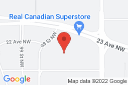 Map of 9711 23 Ave NW, Edmonton, Alberta - South Common Medical Centre - Primacy Medical Clinics
