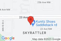 Map of 829 Saddleback Road, Edmonton, Alberta - QSMM Saddleback Medical Clinic - Queen Street Medical Management Group