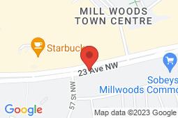 Map of 5619 - 23 Avenue, Edmonton, Alberta - Urban Medical Clinic - Urban Medical Clinic