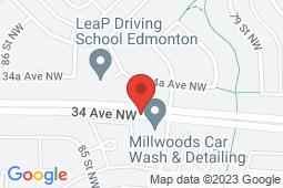 Map of 3236, 3206 - 82 Street, Edmonton, Alberta - Tipaskan Medical Clinic - Md Doctors