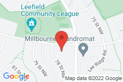 Map of 131 Millbourne Road East, Edmonton, Alberta - Millbourne Road Medical Clinic - Millbourne Road Medical Clinic