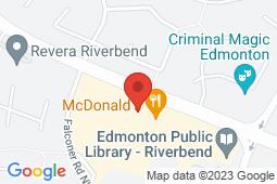 Map of 600 Riverbend Square, Edmonton, Alberta - Riverbend Medicentre - Medicentres