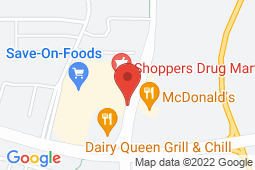 Map of 6274 - 199 St. NW, Edmonton, Alberta - Hampton Medical Clinic - Sphinx Medical Group