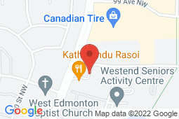 Map of 17719 98A Ave NW, Edmonton, Alberta - TLC Family Medical - TLC Family Medical