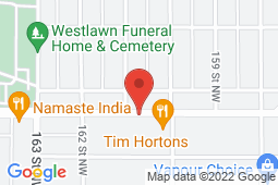 Map of Suite 301, 16028-100A Avenue NW, Edmonton, Alberta - QSMM Glenwood Medical Clinic - Queen Street Medical Management Group