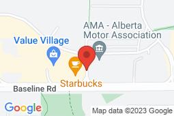 Map of 9, 101 Bremner Drive, Edmonton, Alberta - Sherwood Park Medicentre - Medicentres
