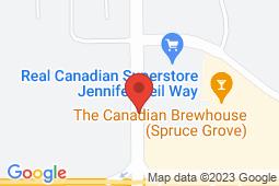 Map of #10 - 110 Jennifer Heil Way, Spruce Grove, Alberta - Symphony Medical Clinic - Primacy Medical Clinics