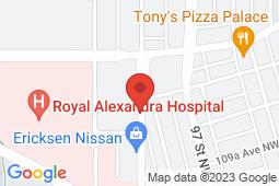 Map of 101, 11010-101 St. NW, Edmonton, Alberta - Hys Centre Medical Clinic - Hys Centre Medical Clinic