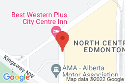 Map of Suite 303, Kingsway Mall, Edmonton, Alberta - Wellpoint Health Alberta Edmonton - Wellpoint Health Alberta