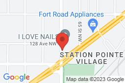 Map of 12720 66 St NW, Edmonton, Alberta - Belvedere Medical Clinic - Md Doctors