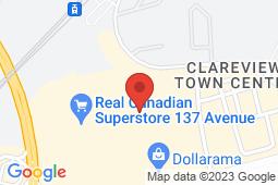 Map of 3804 - 137 Avenue, Edmonton, Alberta - Eastgate Medical Centre - Eastgate Medical Centre