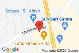 Map of 210, 10 McKenney Avenue, Edmonton, Alberta - McKenney Medicentre - Medicentres