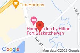 Map of 10101 86 Ave # 206, Fort Saskatchewan, Alberta - Ross Creek Medical Center - Ross Creek Medical And Laser Clinic