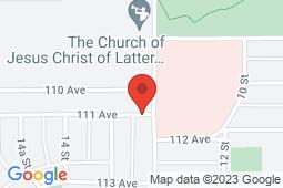 Map of 1300 111 Avenue, Dawson Creek, British Columbia - Eljen Medical Clinic - Eljen Medical Clinic