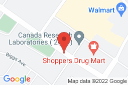 Map of #203, 8706 Franklin Avenue, Fort McMurray, Alberta - Franklin Avenue Community Care Clinic - Franklin Avenue Community Care Clinic