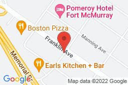 Map of 9914 Morrison St #103, Fort McMurray, Alberta - Morrison Medical Clinic - Morrison Medical Clinic