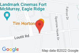 Map of 355 Loutit Rd #141, Fort McMurray, Alberta - Helma Medical Clinic - Helma Medical Clinic