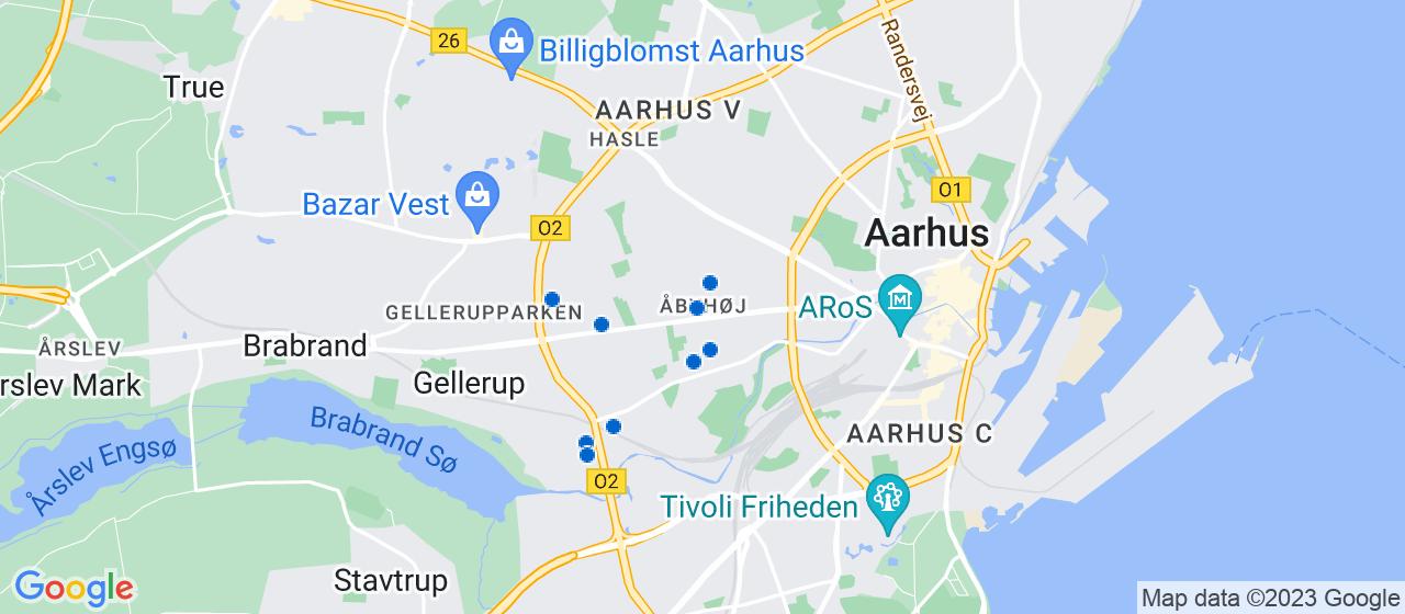 malerfirmaer i Åbyhøj