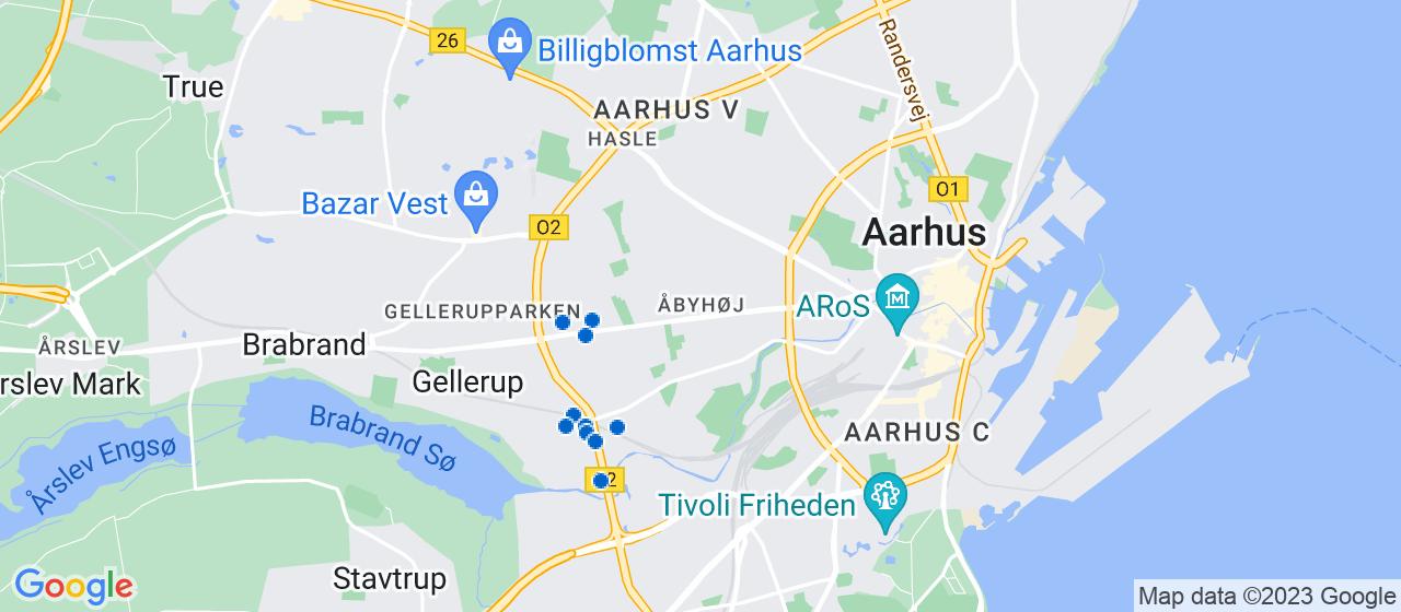 elektrikerfirmaer i Åbyhøj