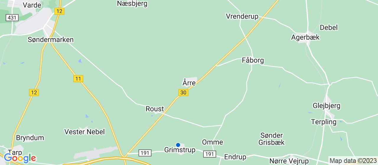 byggefirmaer i Årre