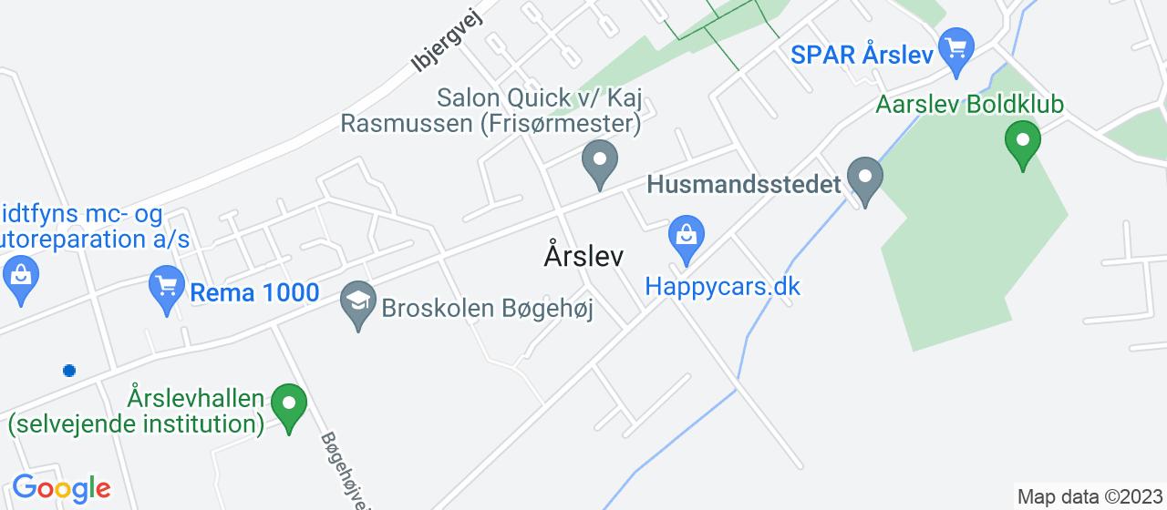 ejendomsmæglerfirmaer i Årslev