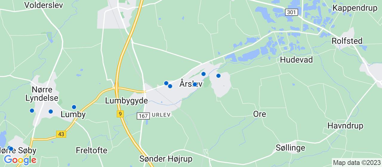 varmepumpe firmaer i Årslev