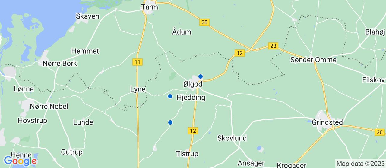 VVS firmaer i Ølgod
