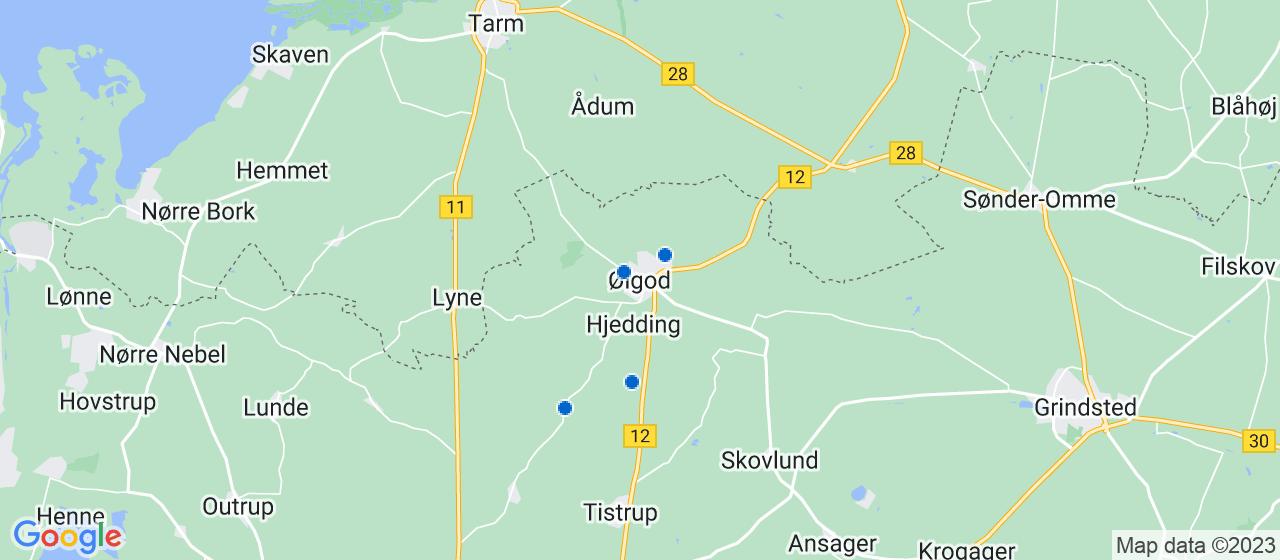 vvsfirmaer i Ølgod