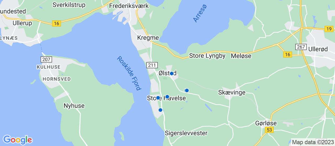 anlægsgartnerfirmaer i Ølsted