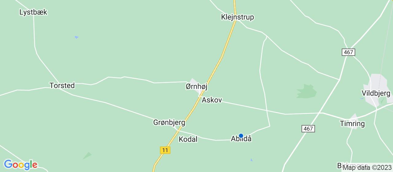 vvsfirmaer i Ørnhøj