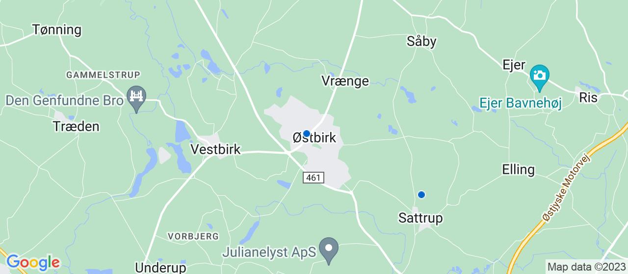 elektrikerfirmaer i Østbirk