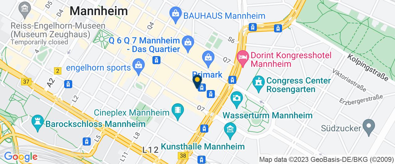 Karte der Praxis