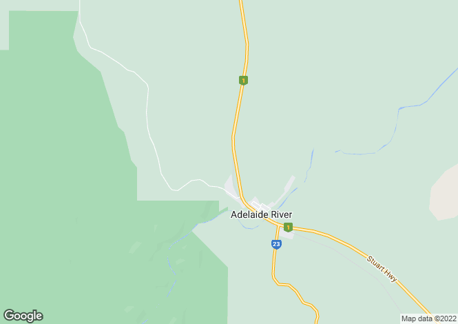 Map for 445 Haynes Road, ADELAIDE RIVER 0846