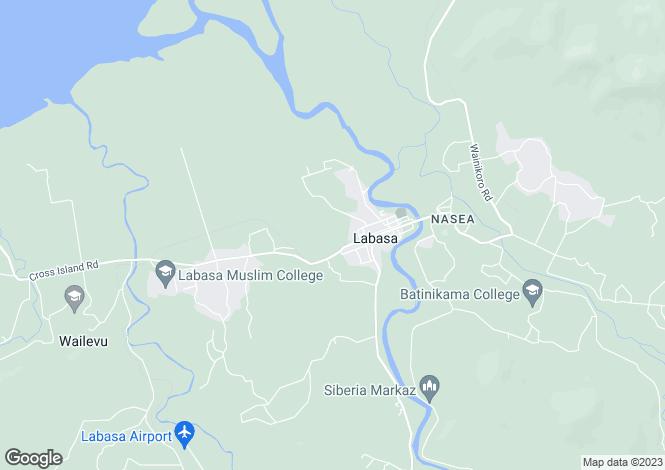 Map for Labasa